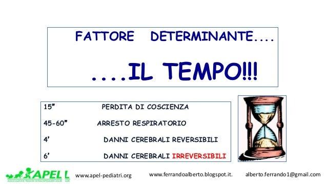 www.apel-pediatri.org www.ferrandoalberto.blogspot.it.alberto.ferrando1@gmail.com FATTORE DETERMINANTE.... ....IL...