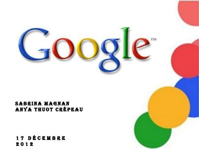 Sabrina MagnanAnya Thuot Crépeau17 décembre2012