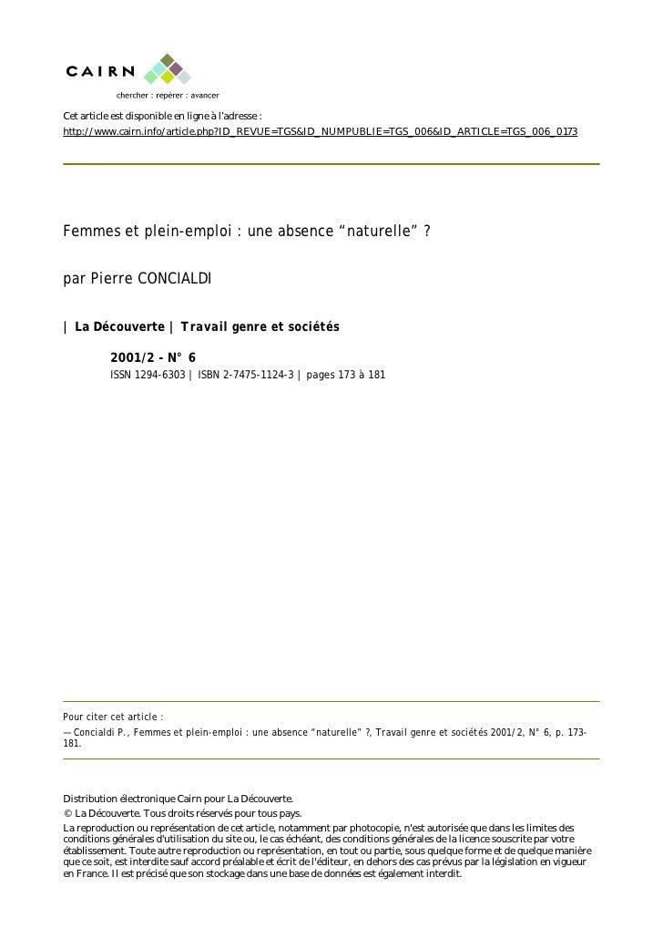 Cet article est disponible en ligne à l'adresse : http://www.cairn.info/article.php?ID_REVUE=TGS&ID_NUMPUBLIE=TGS_006&ID_A...