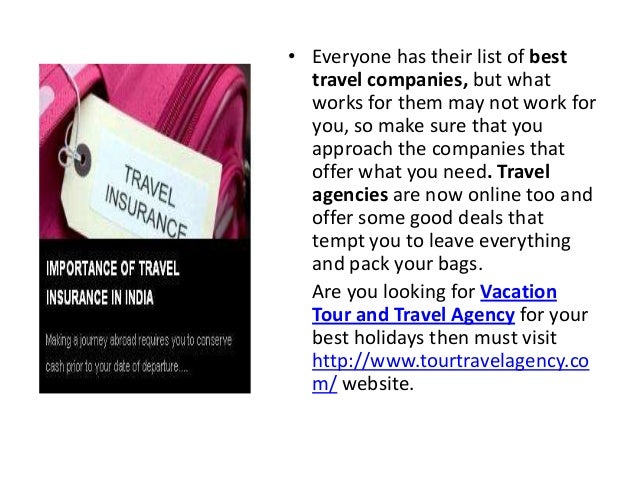 Vacation Tour And Travel Agency - Vacation tour and travel