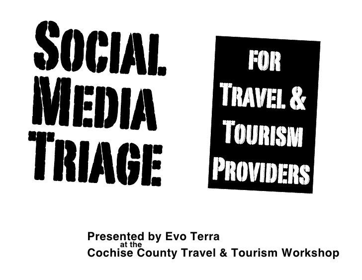 Social                  for Media                 Travel &                       Tourism Triage               Providers   ...