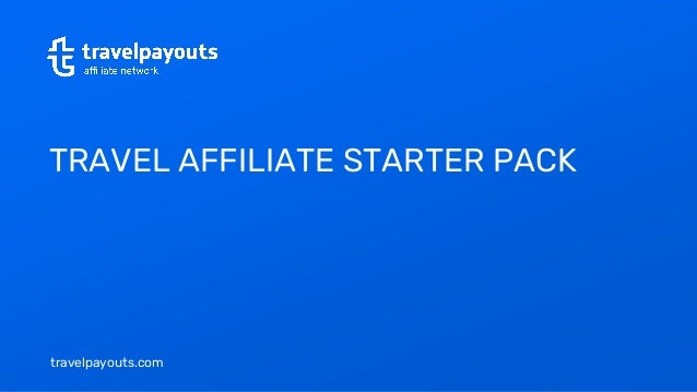 travelpayouts.com TRAVEL AFFILIATE STARTER PACK