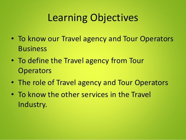 Travel Tour Agency Business Plan