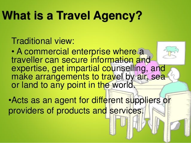 what is a travel company