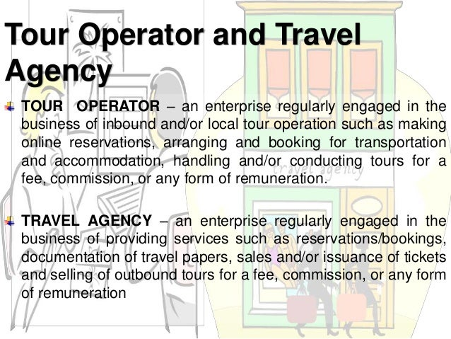 Travel agency and tour operations lecture