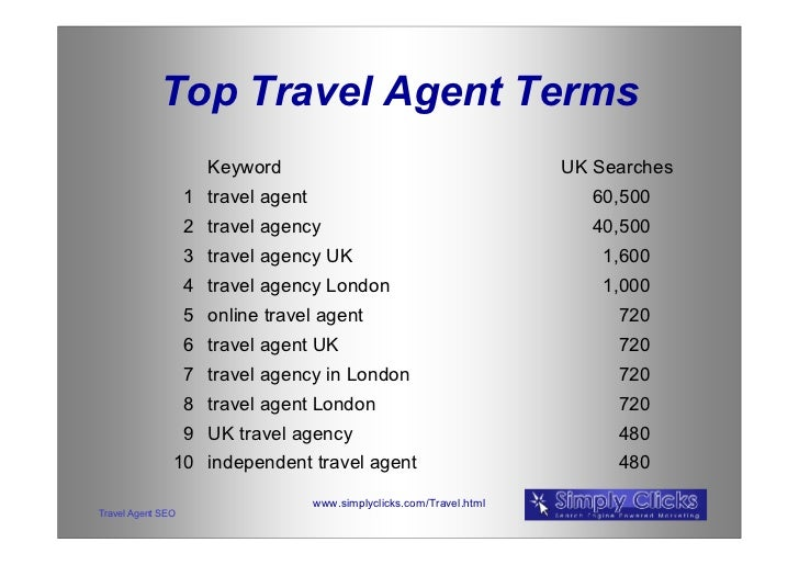 Travel agent trip to london