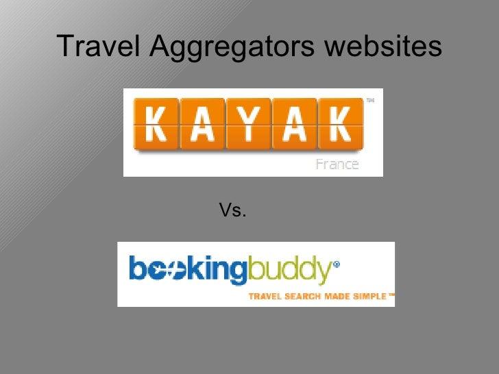 Travel Aggregators websites Vs.