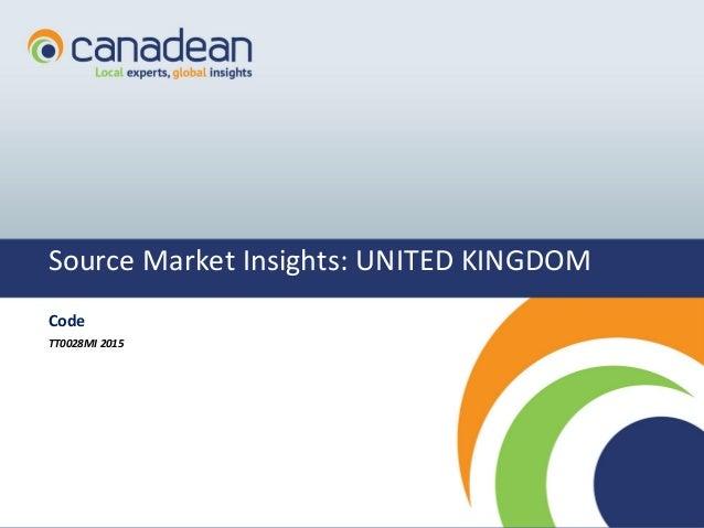 1111 Source Market Insights: UNITED KINGDOM Code TT0028MI 2015