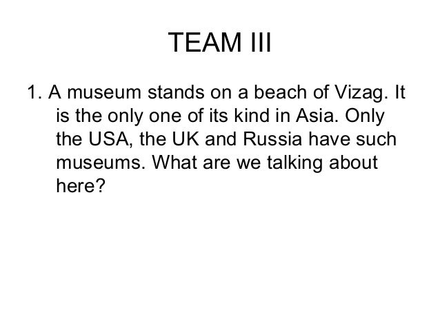 TEAM IV5. In 1849 some people were swept up    in the excitement of what is called    The Gold Rush. In which state in    ...
