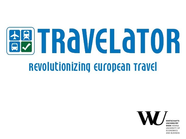 Revolutionizing european Travel