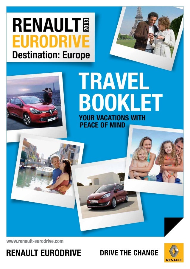 2013TRAVELBOOKLETYOUR VACATIONS WITHPEACE OF MIND