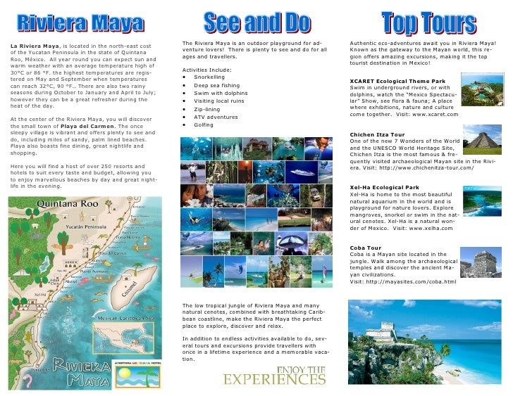 Travel Brochure Exemplar