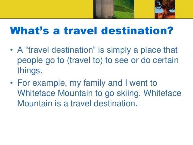 Travel brochure ppt