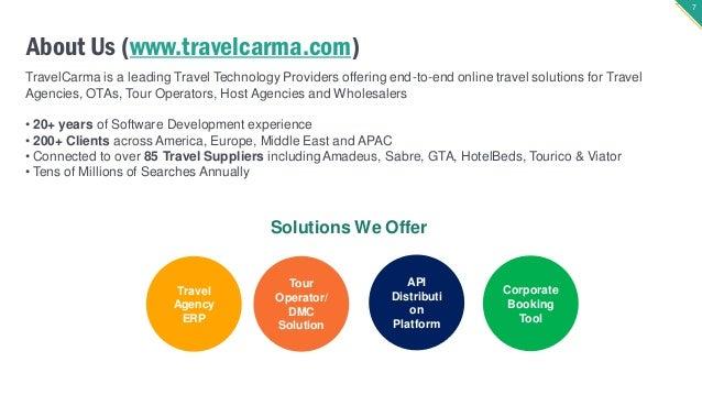 TravelCarma Host Agency Solution