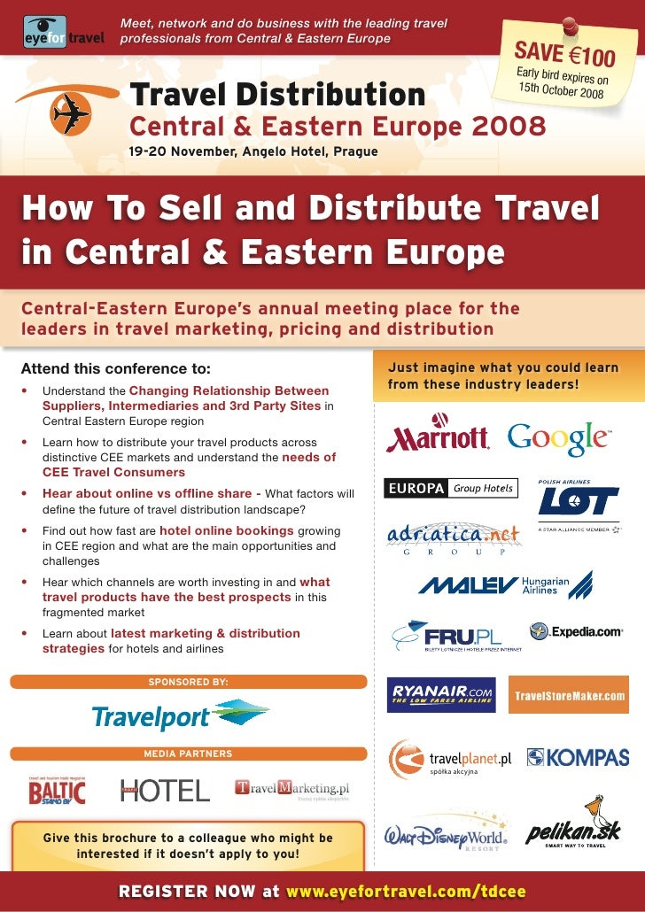 Meet, network and do business with the leading travel                   professionals from Central & Eastern Europe       ...