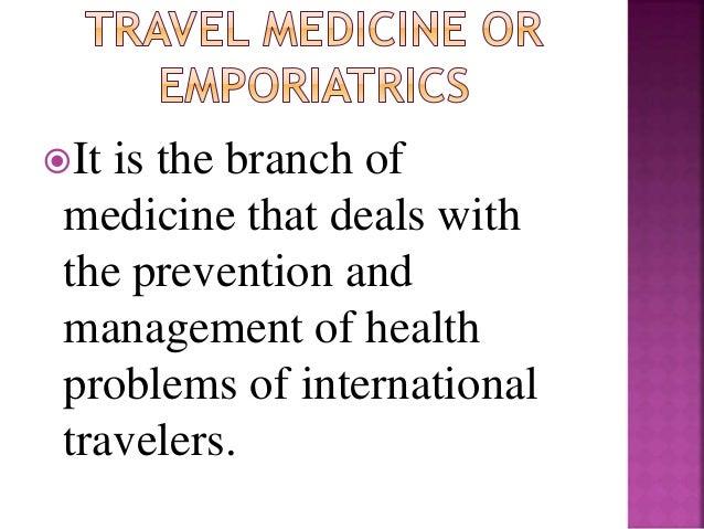 Traveler medicine Slide 3