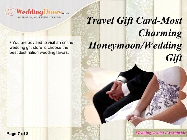 Travel gift card most charming honeymoon wedding gift – Wedding Gift Cards Online