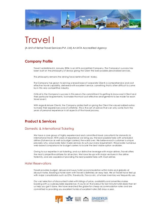Email To Travel Agent Sample