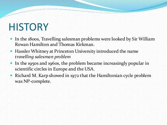 Traveling Salesman Problem Tsp