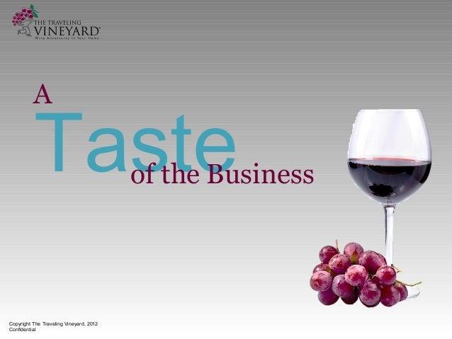 Traveling Vineyard Home Based Business