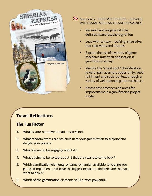 Sentential Level 2 Gamification Certification - Travel Journal Sample…