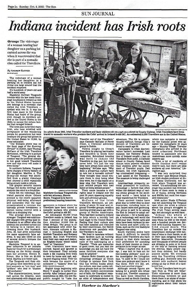 Page 2A : Sunday. Oct. 6,2002 : The Sun                                                                               SUN ...