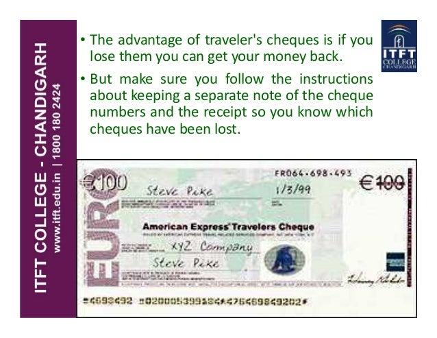 Itft traveller cheques - How do bureau de change make money ...