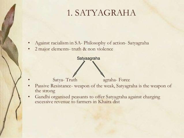 freedom struggle Non Violent Resistance Satyagraha