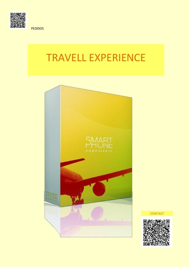 PEDIDOS  TRAVELL EXPERIENCE  CONTACT