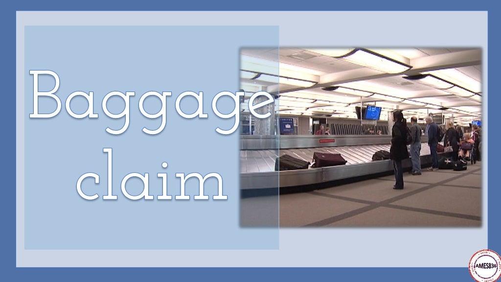 Travelling by plane: English Language page 29