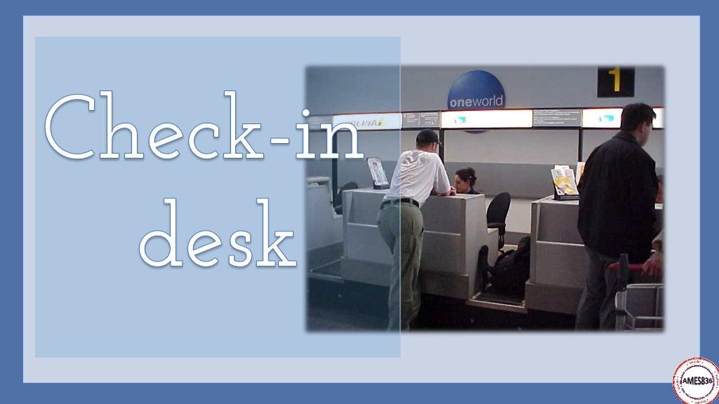 Travelling by plane: English Language page 3