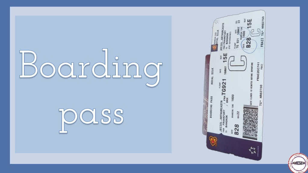 Travelling by plane: English Language page 5