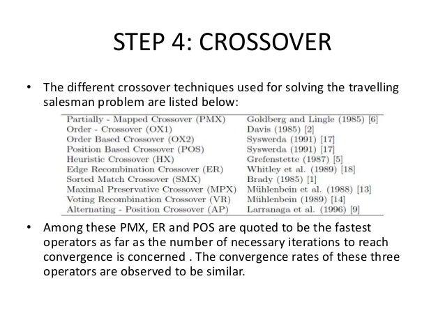 travelling salesman problem using genetic algorithms rh slideshare net