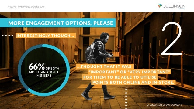 MORE ENGAGEMENT OPTIONS, PLEASE 2INTERESTINGLY THOUGH... 66%OF BOTH AIRLINE AND HOTEL MEMBERS POINTS BOTH ONLINE AND IN-ST...