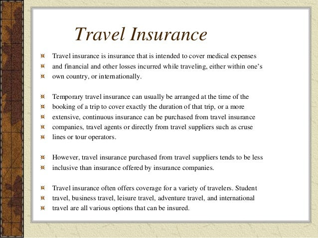 Is Travel Insurance Compulsory For Usa