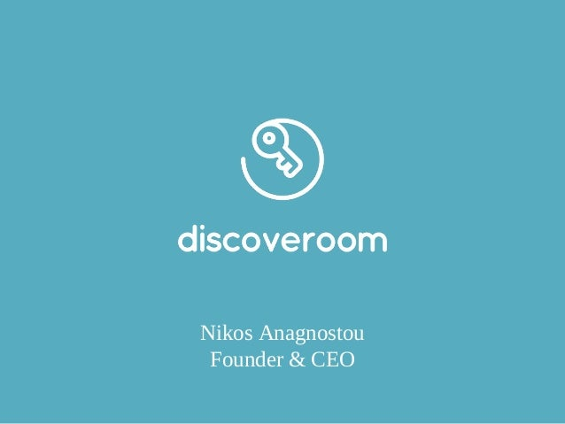 Nikos Anagnostou Founder & CEO