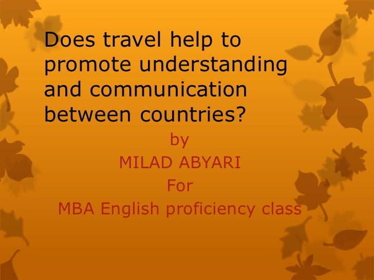 communication between countries