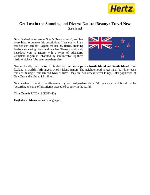 Get Lost in the Stunning and Diverse Natural Beauty : Travel New                                ZealandNew Zealand is know...