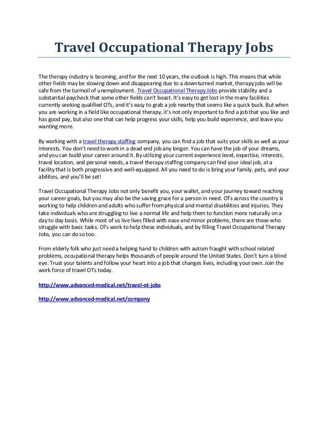 CLARICE: Travel ot jobs