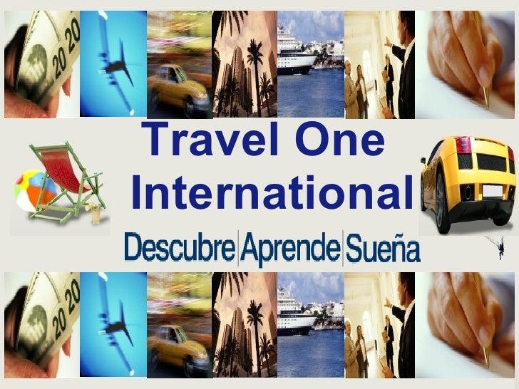 Travel One   International