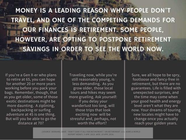 Travel or Retire? Slide 2