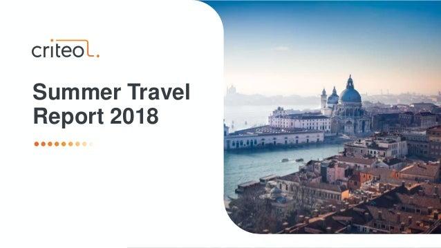 Summer Travel Report 2018
