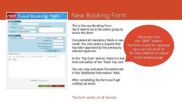 Travel Request System (Trs), Userguide Slides