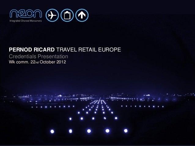 Pernod Ricard Travel Retail Europe