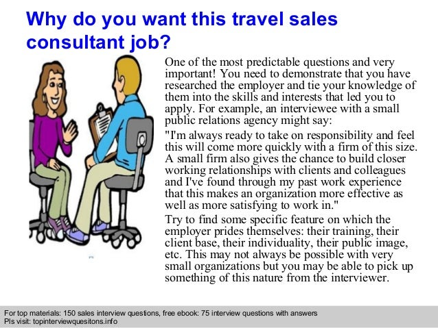 Travel Sales Consultant Interview Questions And Answers