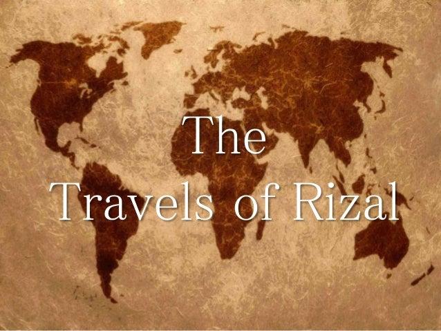 Rizal Travel In Europe