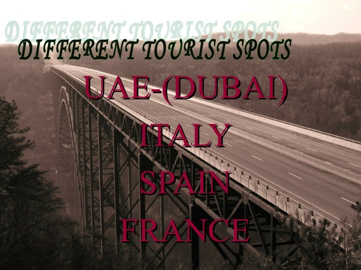 Travel & Tourism Slide 3