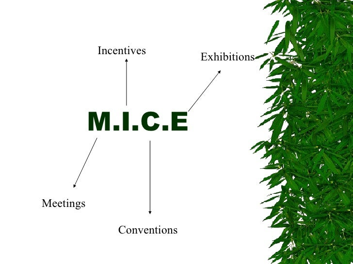 M.I.C.E Meetings Incentives Conventions Exhibitions