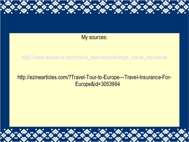 how to get travel insurance for europe
