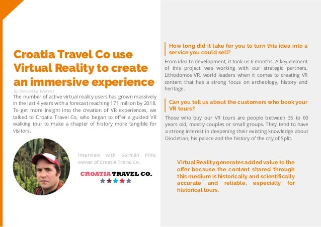 28 Travel Trend Report 2019 By Franziska Wernet How long did it take for you to turn this idea into a service you could se...